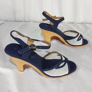 Shoes - Vintage abhadabba heels size 7M